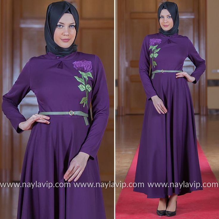 PUANE - DRESS - 4807MOR #hijab #naylavip #hijabi #hijabfashion #hijabstyle #hijabpress #muslimabaya #islamiccoat #scarf #fashion #turkishdress #clothing #eveningdresses #dailydresses #tunic #vest #skirt #hijabtrends