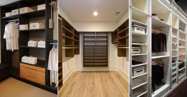 A distribuição das roupas no closet determinam a sua praticidade. Veja dicas para projetar o seu