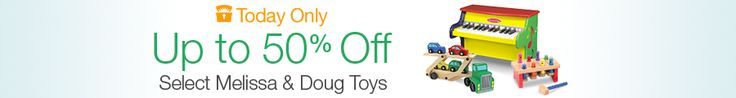 Amazon: Up to 50% off Select Melissa & Doug Toys (Today Only)