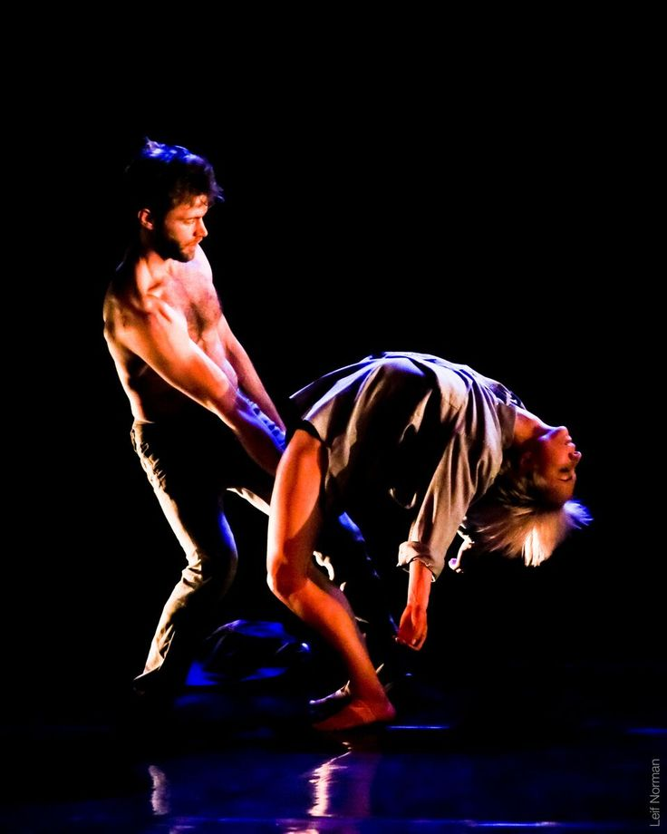 Jason Martin and Janelle Hacault in Falling, photo by Leif Norman