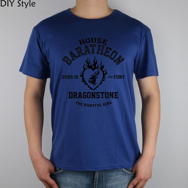 Game Of Thrones - House Baratheon - Ours Is The Fury/The Rightful King T-Shirt - Men/Women