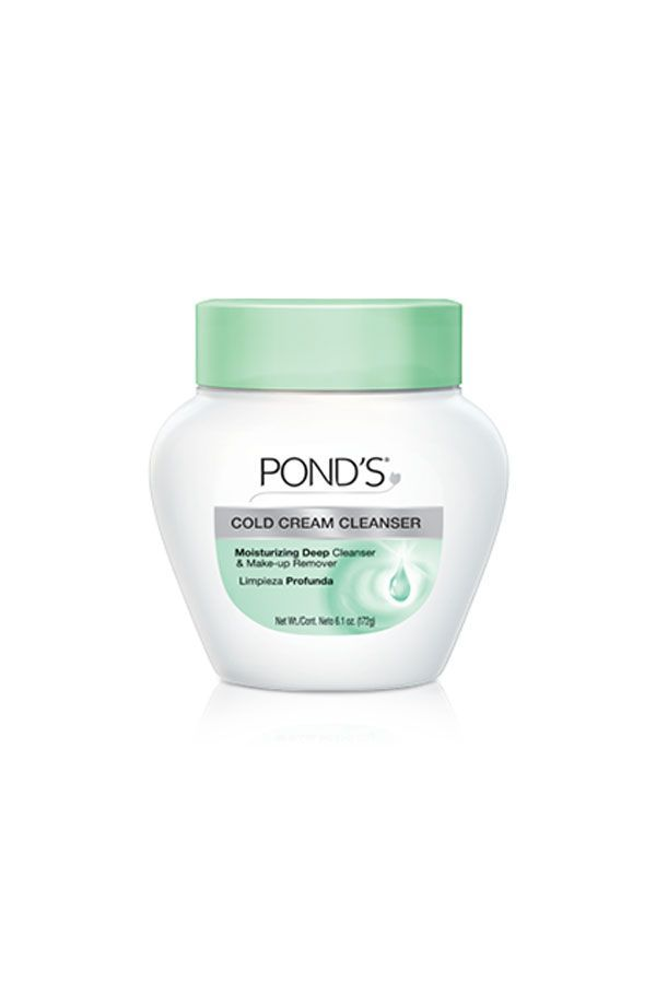 Our favorite cold cream cleanser is not going anywhere. This instantly recognizable bottle of moisturizer and cleanser is the gentlest makeup remover we know — and a tub lasts forever. Pond's Cold Cream Cleanser, $7.99. Shop it here. #refinery29 http://www.refinery29.com/2016/07/117199/top-skin-care-brand-by-country-2016#slide-18