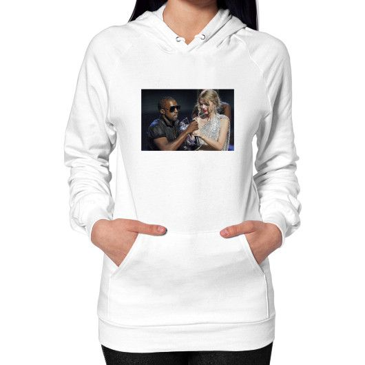 Kanye Taylor Hoodie (on woman) Shirt