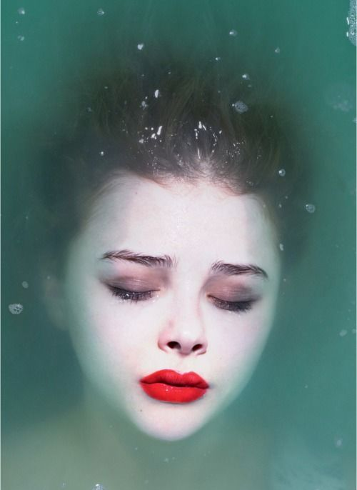Chloe Moretz lips