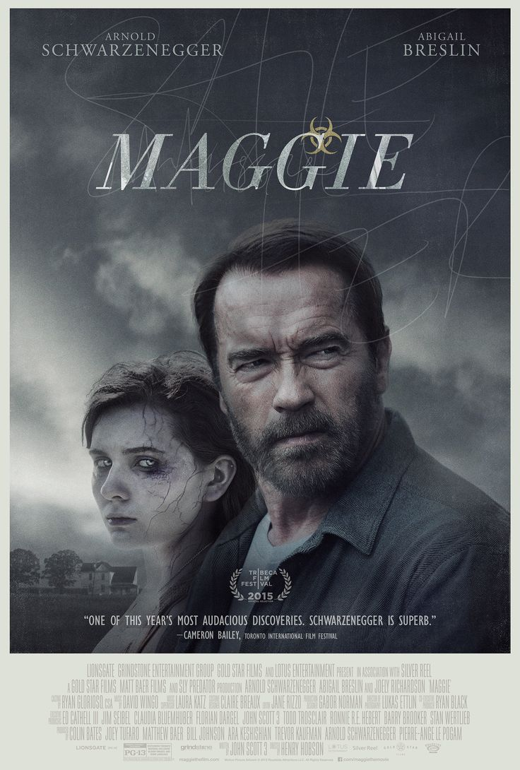 Zombob's Zombie News and Reviews: Finally! The poster for Arnie's Zombie flick 'Magg...