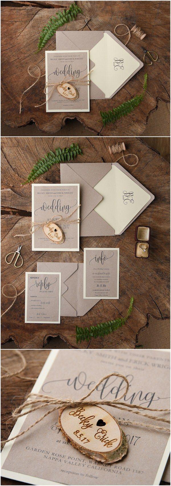country wedding invitations rustic country wedding invitations Rustic country wedding invitations rusticweddingideas