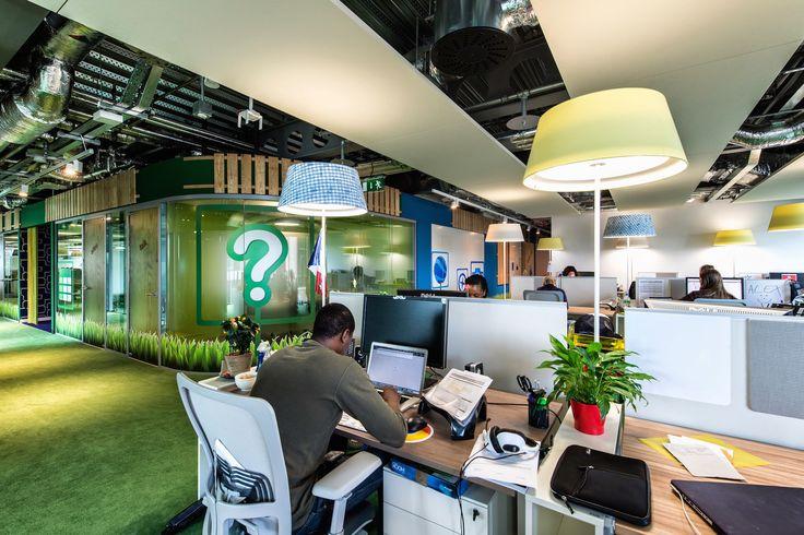 Google Campus Dublin | Google Docks - Office Space - Floor Identity: Appiness #GoogleDublin, #Office, #WallGraphics