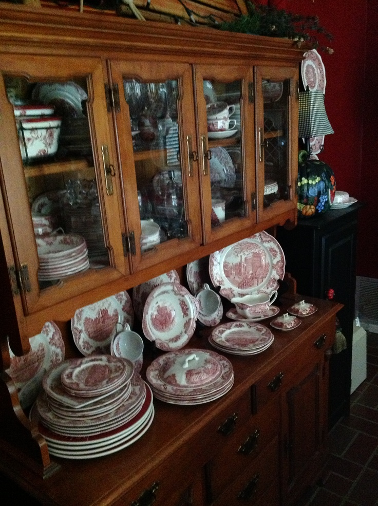 China Cabinet And Buffet. Tell City What I Have