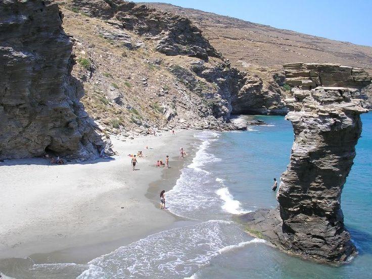 18 Grias Pidima beach, Andros island