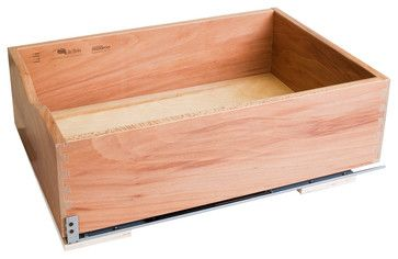 Preassembled Rollout Shelf System - traditional - Kitchen Drawer Organizers - Burroughs Hardwoods Inc.