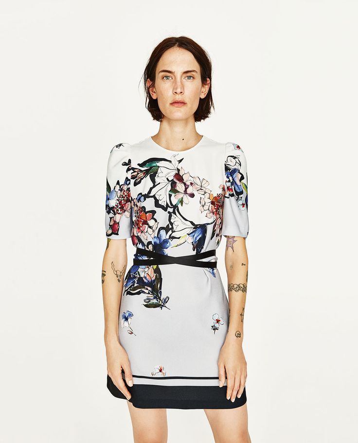 FLORAL PRINT DRESS-NEW IN-WOMAN | ZARA United States