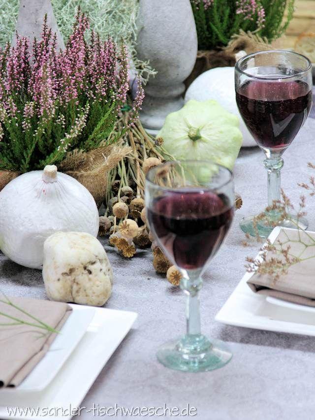 Schnell arrangiert: Herbstliche Tischdeko