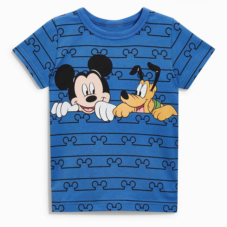 2018 Fashion Summer baby boys clothes short sleeve O-neck t shirt Cotton Cartoon Mickey printing brand tee tops //Price: $18.87 //     #baby