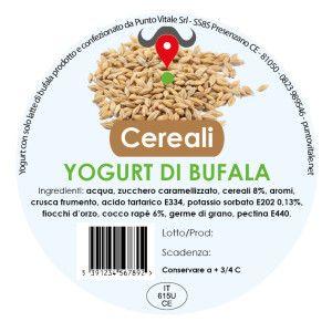 Yogurt di Bufala, gusto Cereali: http://www.puntovitale.net/shop/yogurt-di-latte-di-bufala/yogurt-cereali