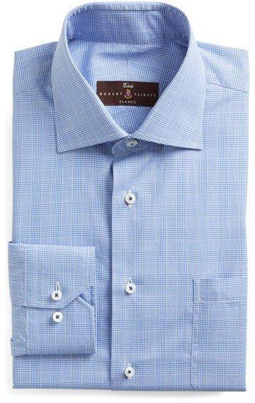 Robert Talbott Classic Fit Check Dress Shirt