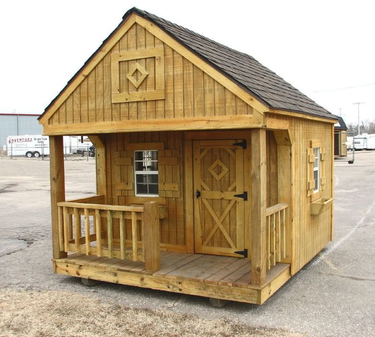 Portable Better Built Playhouse Storage Building