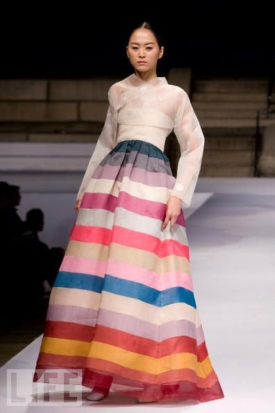 exquisite version of the Korean hanbok