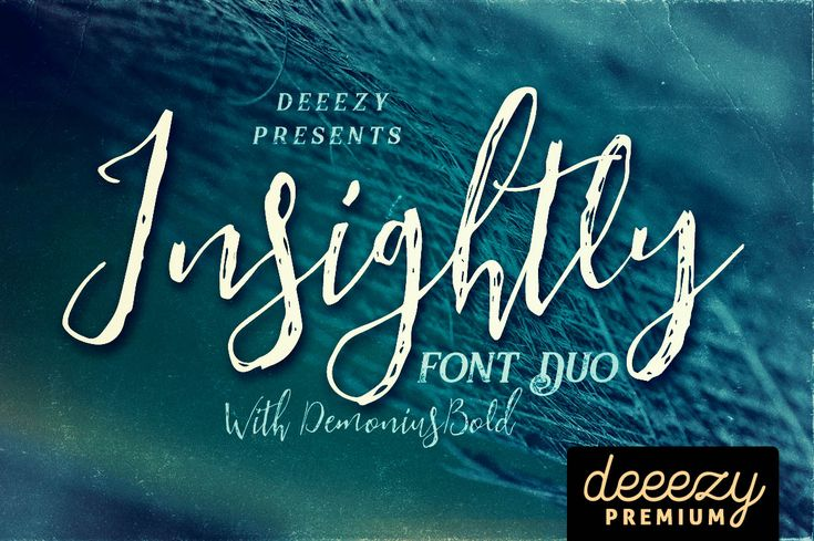 Insightly Font Duo   Deeezy - Freebies with Extended License