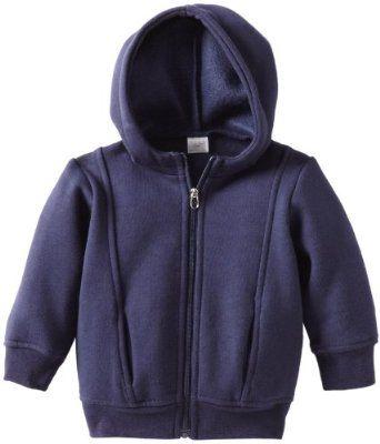 egg by susan lazar Baby-Boys Infant Fleece Hoodie Shirt, Navy, 6-12 Months EGG by Susan Lazar. $40.00