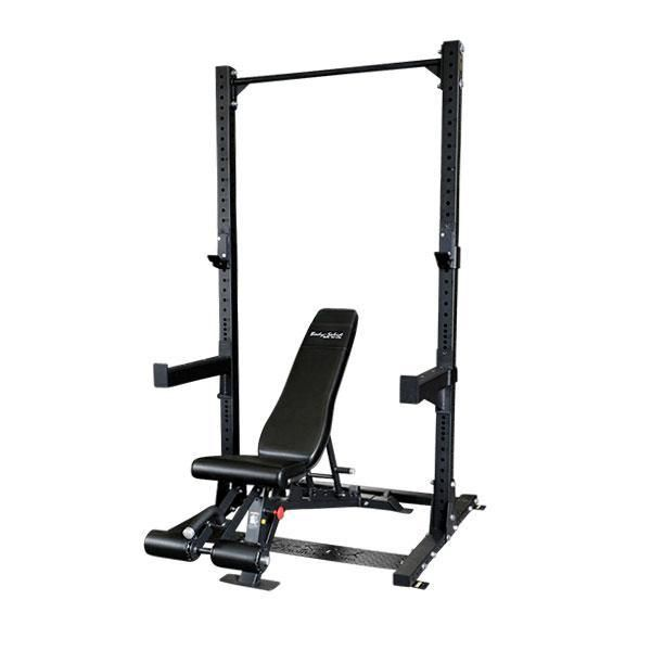 Body-Solid SPR500 Commercial Half Rack Package - SPR500P2