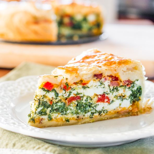Spinach Ricotta Brunch Bake