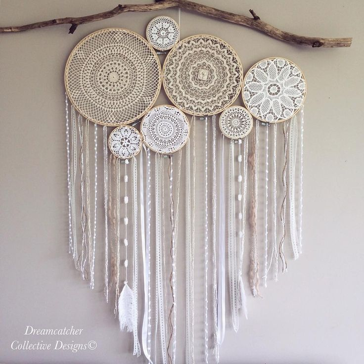 432 best images about dream catchers on pinterest doily dream catchers feathers and lace. Black Bedroom Furniture Sets. Home Design Ideas