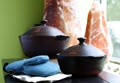 Pomaire cookware from Chile (the only place to get it) - cooking in this imparts a flavour like none other.