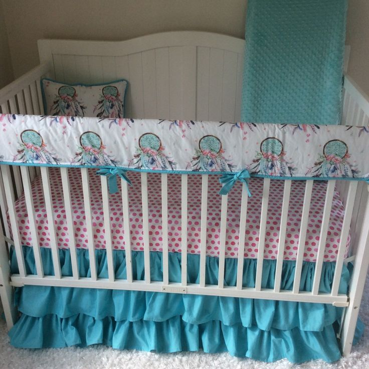 8 Best Boho Nursery Crib Bedding Ideas With Dreamcatchers