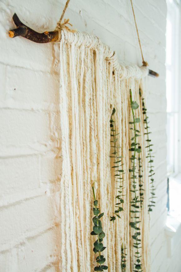 Make: Eucalyptus Wall Hanging | Free People Blog #freepeople