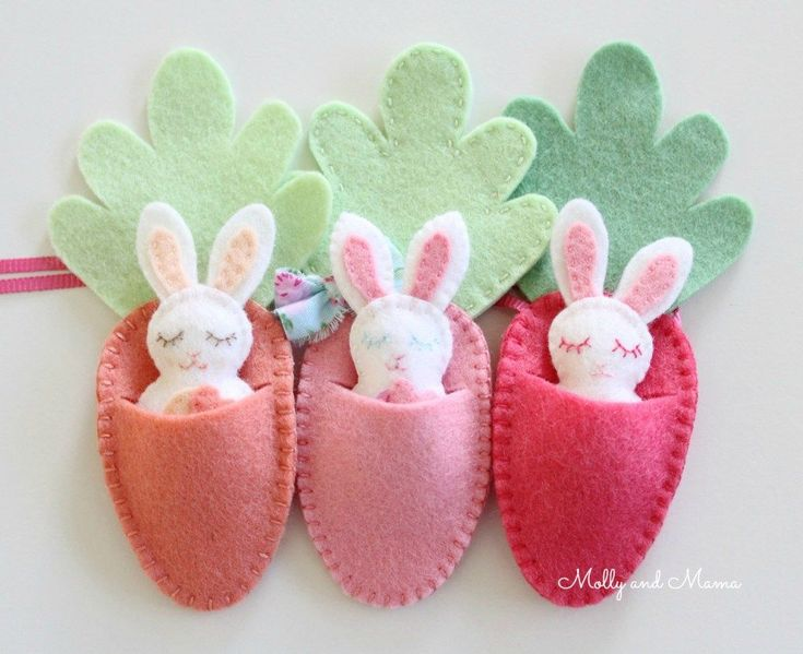Sewing For Easter – 5 Fun and Easy Projects – Molly and Mama #eastersewingprojec…