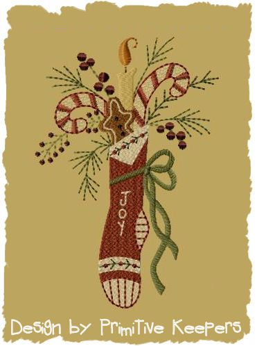 Machine Embroidery Christmast Stocking Designs