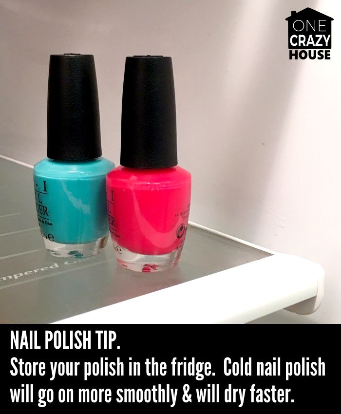 how to get your nail polish to dry faster