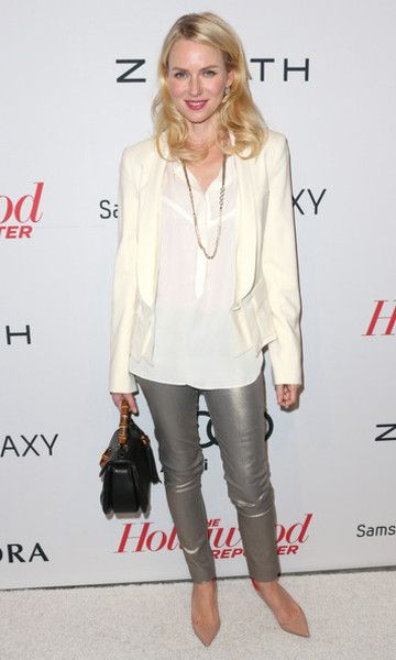 Naomi Watts attends The Hollywood Reporter Nominees' Night 2013 Celebrating  The Annual Academy Award Nominees at Spago on February 2013 in Beverly  Hills, ...