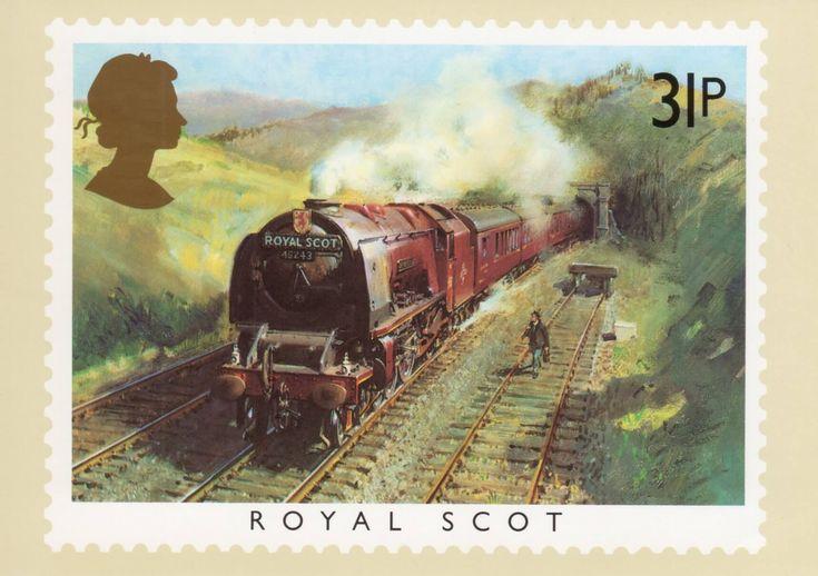 Почтовый паровозик открытки