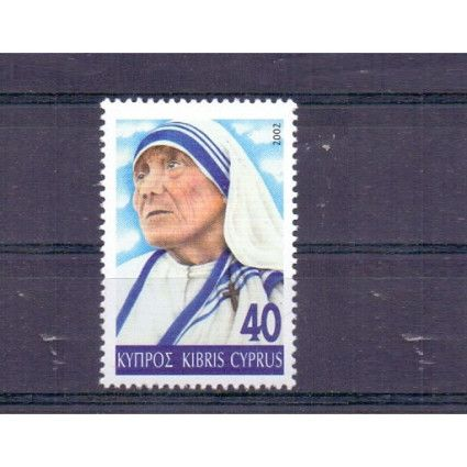 CYPRUS STAMPS MOTHER TERESA