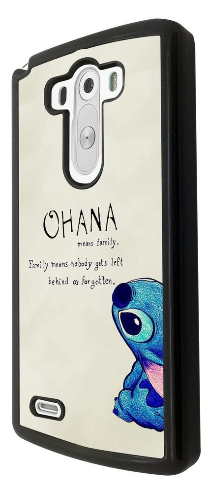 Ohana Family Meaning Quote Fun Design LG G3 /LG G2 Case Back Cover #None