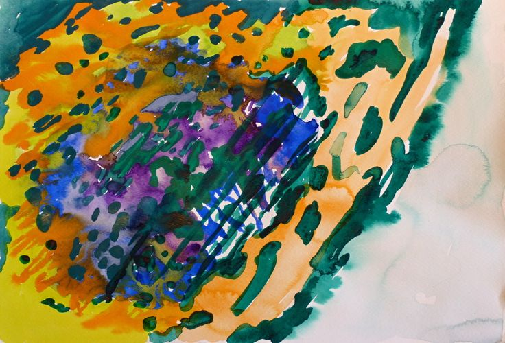Jan Valik, 30 x 40 cm, Watercolour on paper, 2014