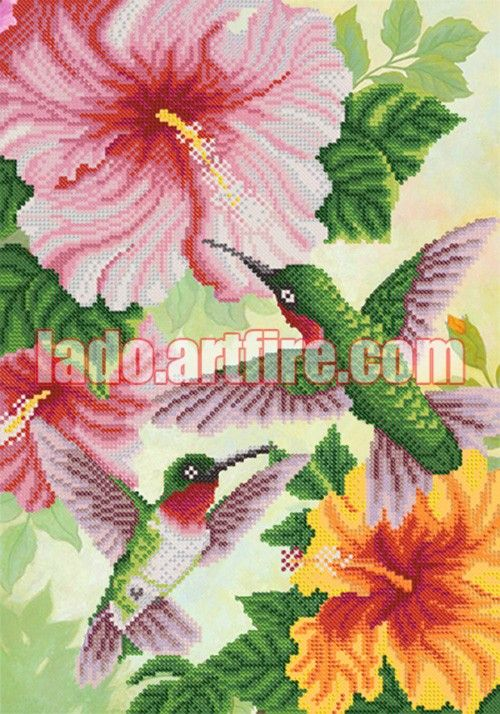 Beaded embroidery is easy to make. This is relaxing and very aesthetic hobby. You will get terrific result with tiny efforts - unique piece of art and attractive decoration for your home. The kits...@ artfire