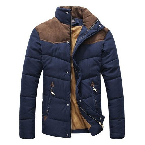 2016 New Arrival Mens Winter Jackets Men's Coat Collar Stitching Faux Suede Cotton padded Clothes Factory Wholesale 2M0091 on Aliexpress.com | Alibaba Group