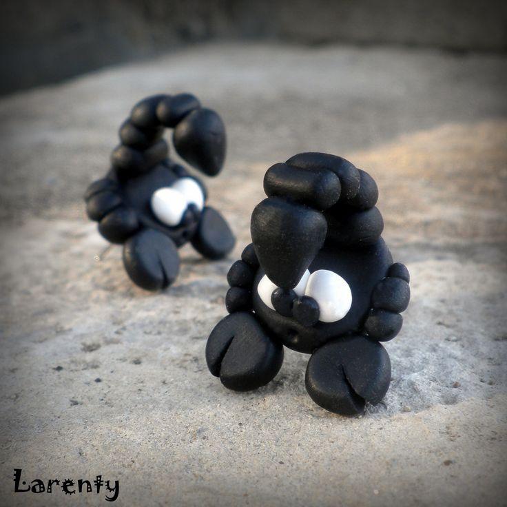 Scorpio - pecičky Pro ženy narozené ve znamení štíra nebo prostě jen pro jejich milovnice... :)  Velikost: cca 20 mm