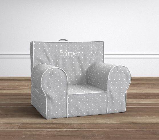 Gray Pin Dot Anywhere Chair®