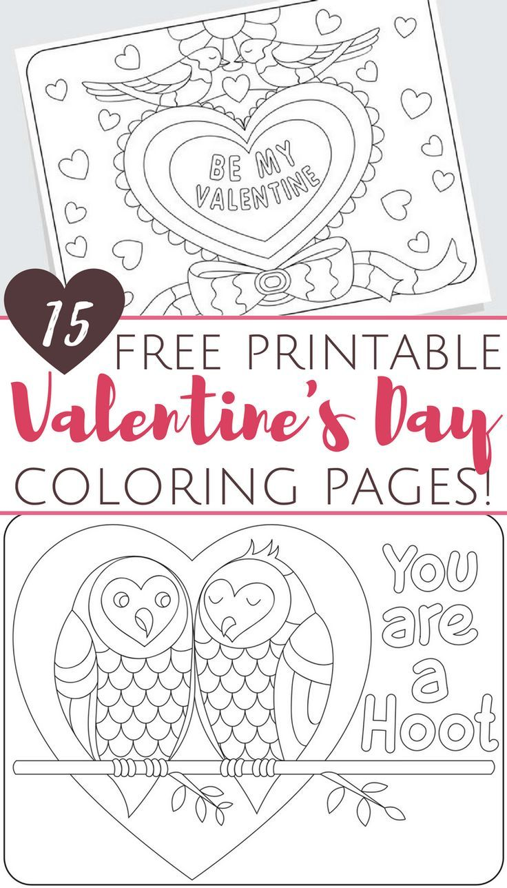 picture regarding Printable Valentines Crafts referred to as Free of charge Printable Valentines Working day Coloring Webpages for Grownups and