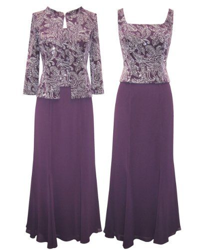 Plus Size Casis Evening Set #mother of the bride