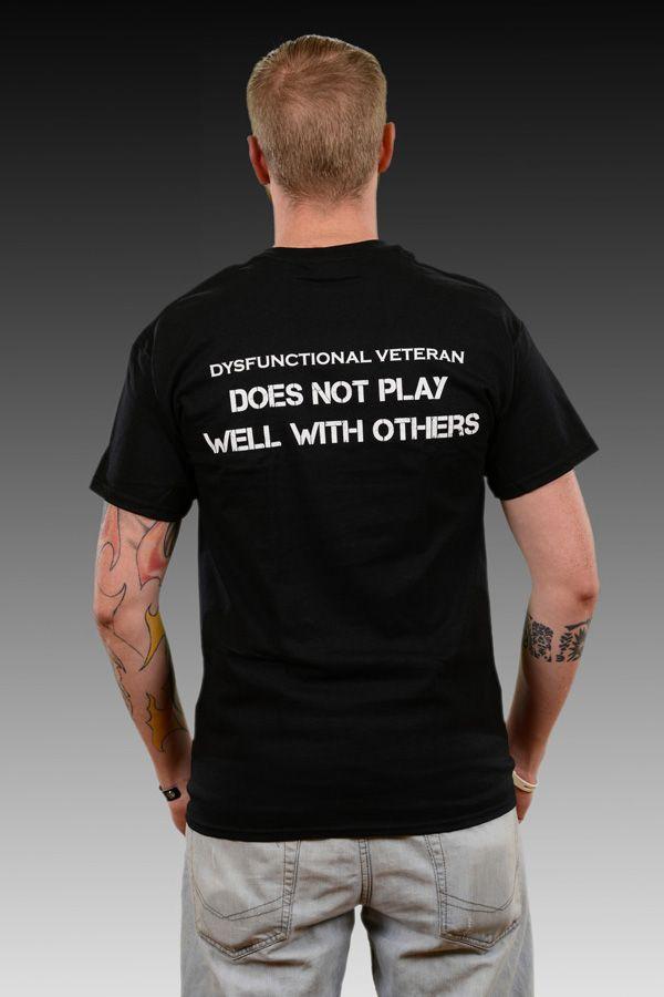 T-Shirts - dysfunctional veterans