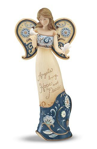 Perfectly Paisley Angel - Hope & Peace