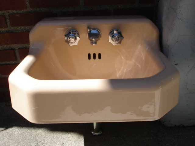 Website With Photo Gallery These sinks were great the faucet is low reducing water splashing out and the top of Vintage BathroomsVintage