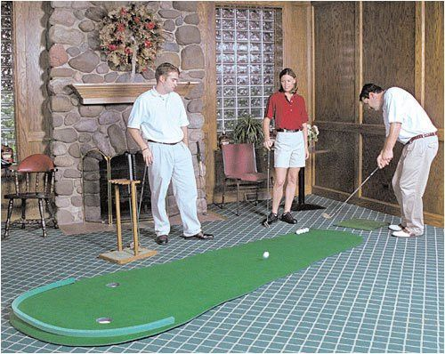 17 Best Ideas About Indoor Putting Green On Pinterest