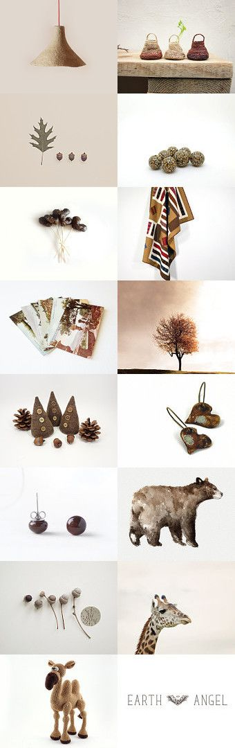 EaRth ToNes by ••Bec•• on Etsy--Pinned with TreasuryPin.com