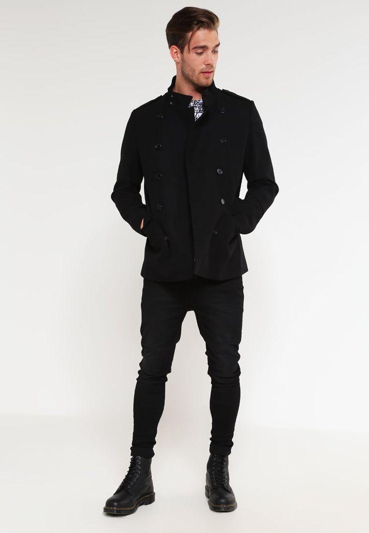 New Look Krótki płaszcz - black za 269,25 zł (15.10.16) zamów bezpłatnie na Zalando.pl.