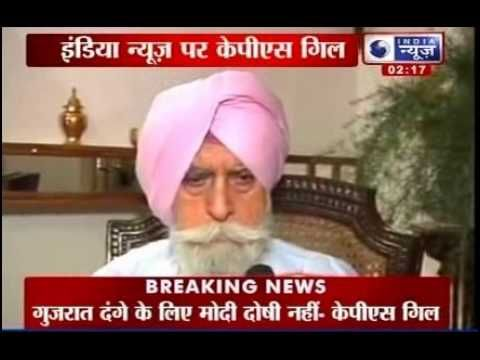 Narendra Modi can't be blamed for 2002 Gujarat riots: KPS Gill - India News